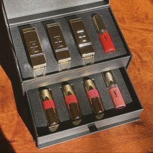 YSL Beauty Lips Wardrobe Mini Lipstick Set New